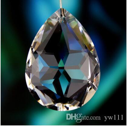 Angel Tears Bauhinia Pendentif En Cristal Transparent Lampe Accessoires Matériel En Gros