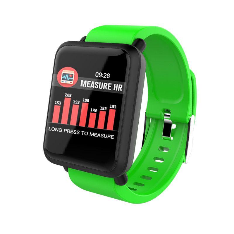 M28 intelligent Bracelet Moniteur de fréquence cardiaque Pression artérielle Fitness Tracker Tracker activité Passometer LED écran tactile SmartWatch