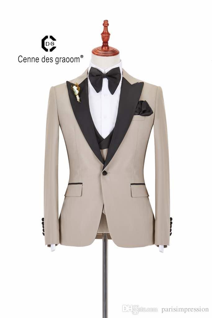Garçon Mariage gilets Page Garçons Crème Ivoire Gilet Cravate