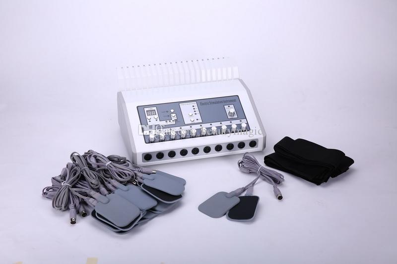 2 em 1 aquecimento de infravermelho distante estimulador muscular EMS máquina eletroestimulação EMS estimulador elétrico muscular para uso de spa de salão