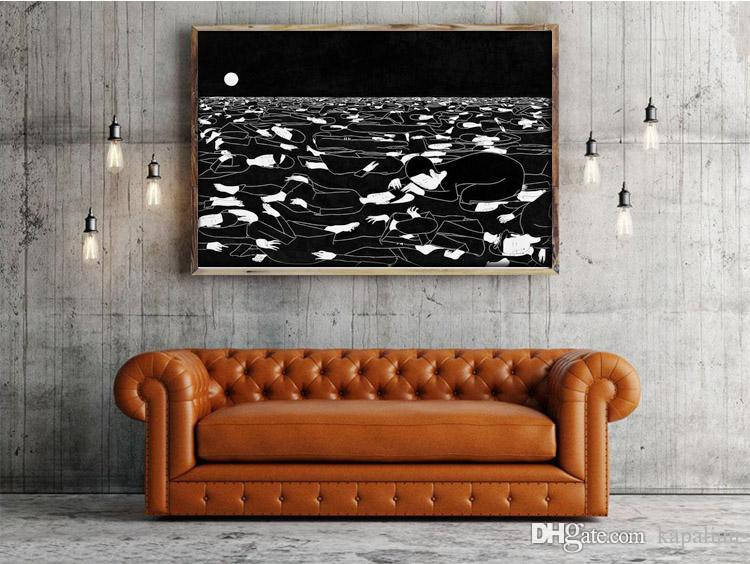 "GORILLAZ POSTER Wall Decor Art Fabric HD PRINT 24x36/"""