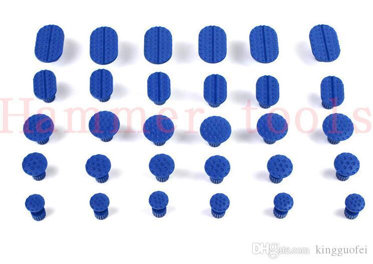 5pcs/set вмятина автомобиля Paintless Repair Tools вмятина съемник клей вкладки для Paintless-вмятина-ремонт авто вмятина ремонт вкладки