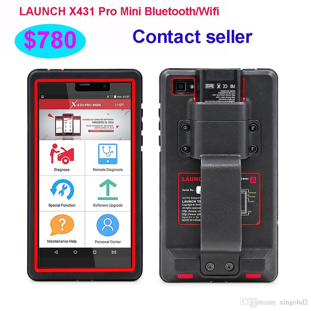 LAUNCH X431 Pro 미니 Bluetooth / Wifi 완전 자동 진단 도구, 2 년 무료 업데이트 제공 X-431 Pro Pro Mini Scan Tool