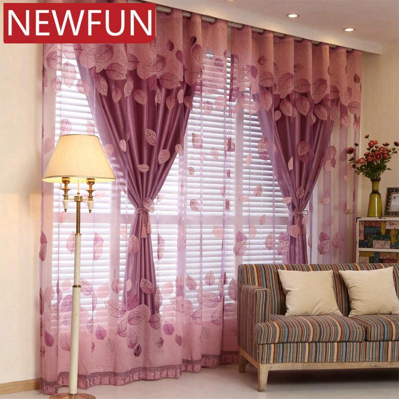 Tende della finestra europei per Soggiorno Reali tende pure per Camera Elegent Tulle e bambini