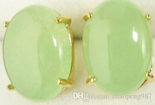 green jade Earrings Costume Jewellery women Earrings<<<free shipping
