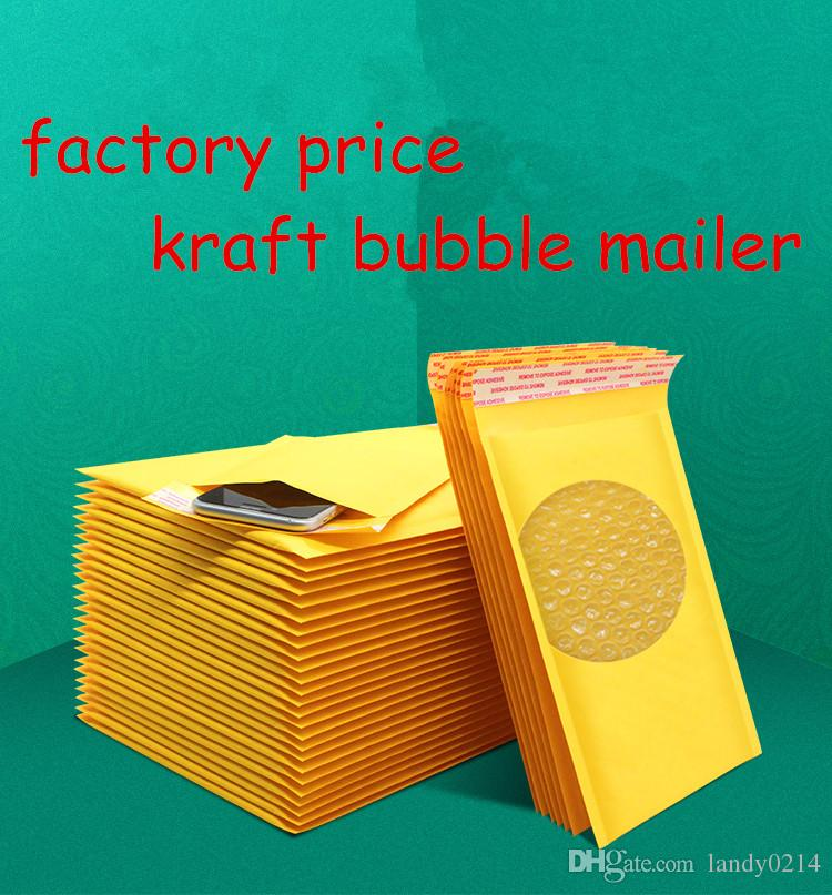 11x13 Self adhesive Bubble Mailers poly bubble mailer bubble Shipping Envelope Postal Bags Shipping Bags kraft paper waterproof Self sealing