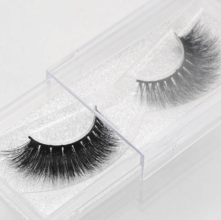 Fashion Messy Sexy 3D Mink Lashes False Eyelashes Mink Thick Fake Eyelashes 100% Handmade Creative Arts Makeup Extension Natural Crisscross