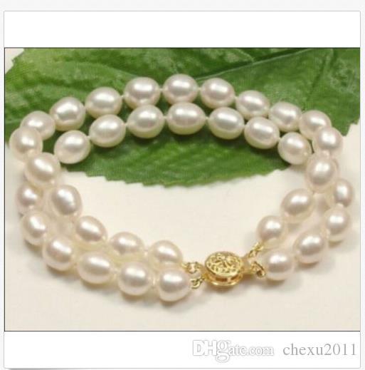 """nouveau collier de perles blanches de mer du sud 11-12mm chaude 14k 7.5-8 """"r"""