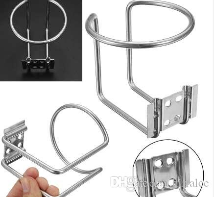 Car Ring Cup Holder Stainless Steel Drink Beverage Bottle Stand For Boat Truck