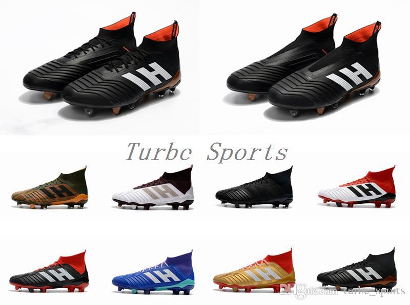 2019 High Quality 2018 New Predator 18+ 18 1 FG Soccer Cleats Chaussures De  Football Boots Mens Outdoor Botas De Futbol Shoes From Turbe_sports,