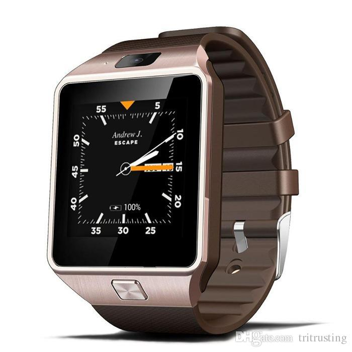 QW09 Android 3g Smart Watch Wifi Bluetooth 4.0 MTK6572 Dual Core 512MB RAM 4GB ROM Pedometer SIM SD Card 3G Smartwatch Phone VS DZ09 MQ10