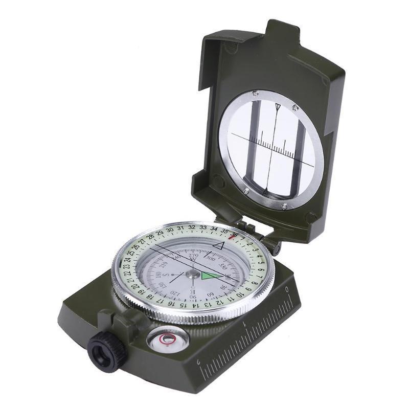 Amerikan Kamp Survival Pusula Lensatik Jeolojik Dijital Pusula Yön Kılavuzu Yön Noktası Açık Ekipmanları K4580