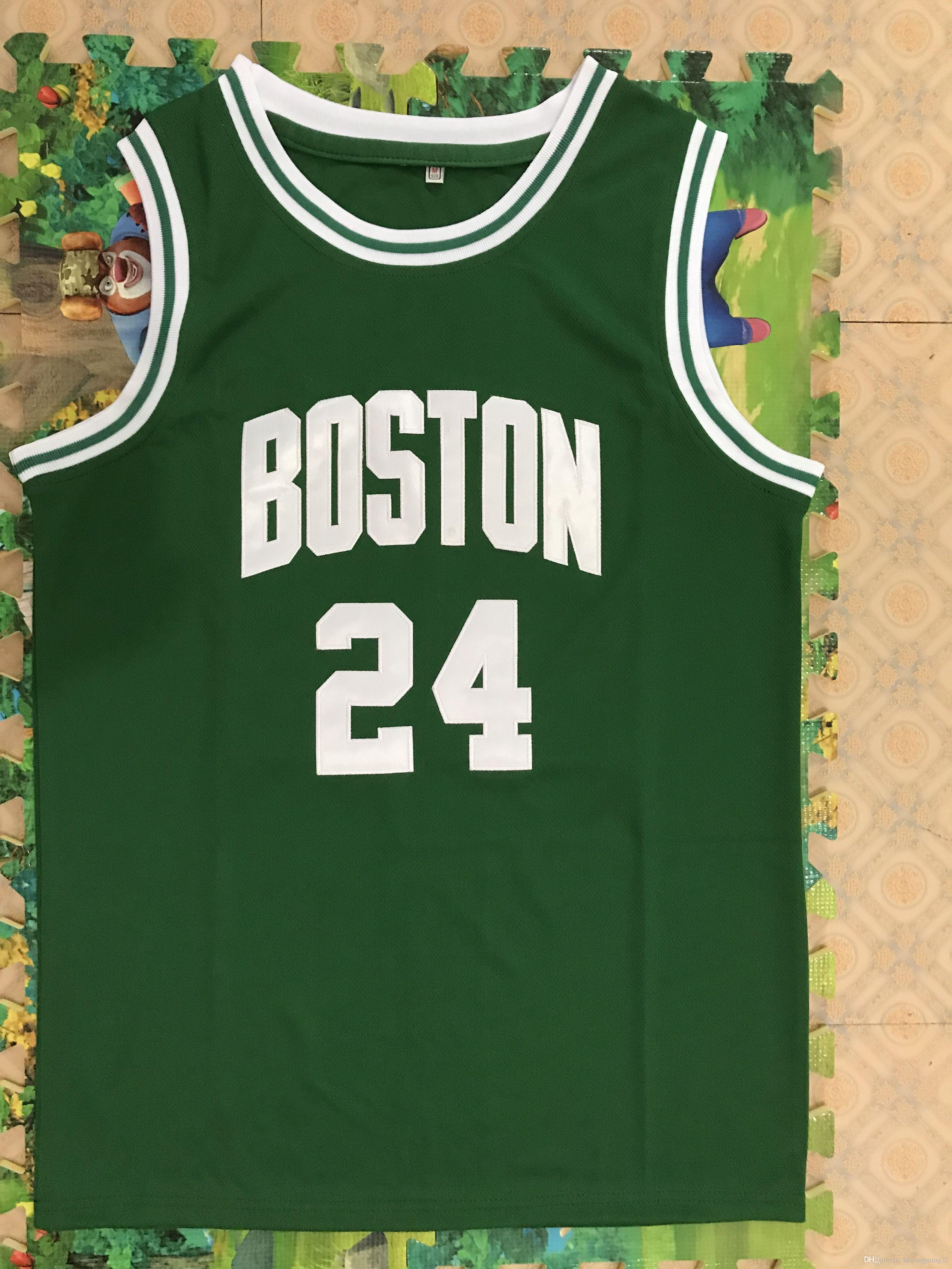 size 40 abff5 6573b 2019 24 Sam Jones Boston Basketball Jersey Mens Embroidery Stitched Custom  Any Number And Name From Hezongming22, $26.13 | DHgate.Com