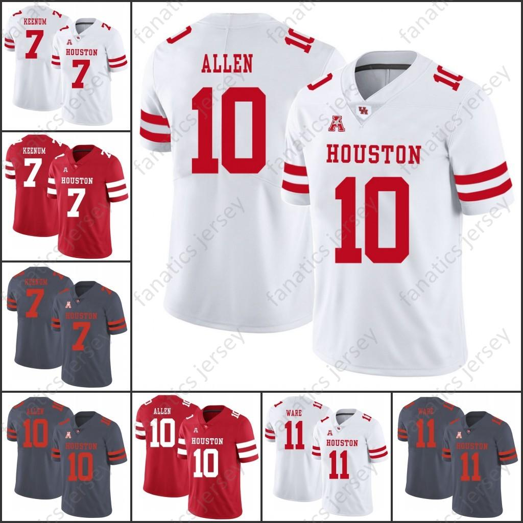 Houston Cougars College Football Jerseys 2018 NCAA UH Ed ...