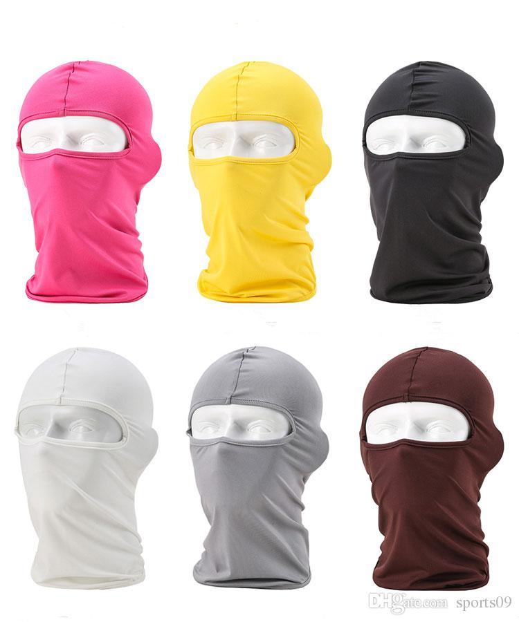 Máscaras ciclo de la bicicleta de la motocicleta del pasamontañas cycling capsula máscara de la máscara a prueba de viento casquillo de los sombreros táctico Snowboard Protección casco integral