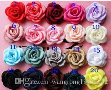 Camellia flowers brooches pins rose flower corsage boutonniere fabric floral flower corsage boutonniere for wedding party gifts