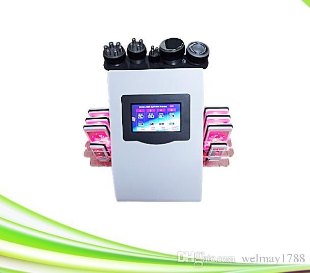 6 W 1 Dokręcanie skóry RF Tripolar Zerrona Cold Lipo Laser Odchudzanie Lipolaser Machine do Spa Kliniki Salon