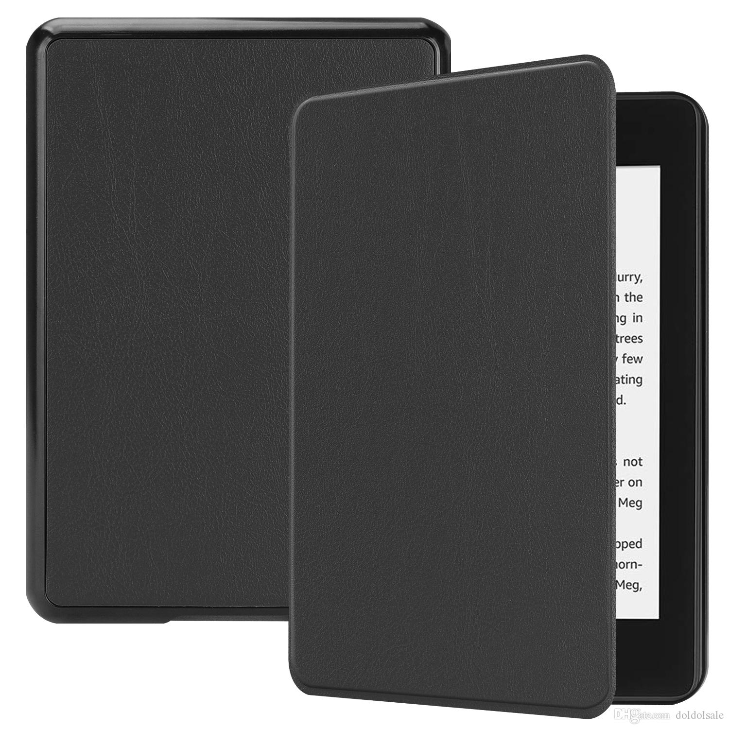 Ultra Slim Smart PU Leather Case Cover for Amazon Kindle Paperwhite 4 10th Generation 2018 6 inch Sleep Wake
