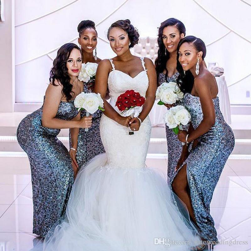 2018 спагетти свадебные платья без рукавов русалка свадебные платья с кружевной аппликацией многоуровневые рюшами, ясных задних пользовательских свадебных платьев
