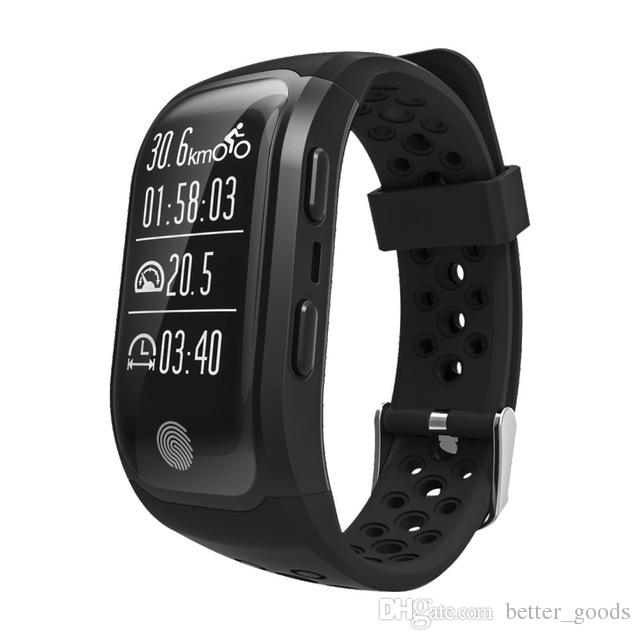 Altitude Meter GPS Smart Bracelet Watches Heart Rate Monitor Smartwatch Fitness Tracker IP68 Waterproof Wristbands For iPhone Android Watch