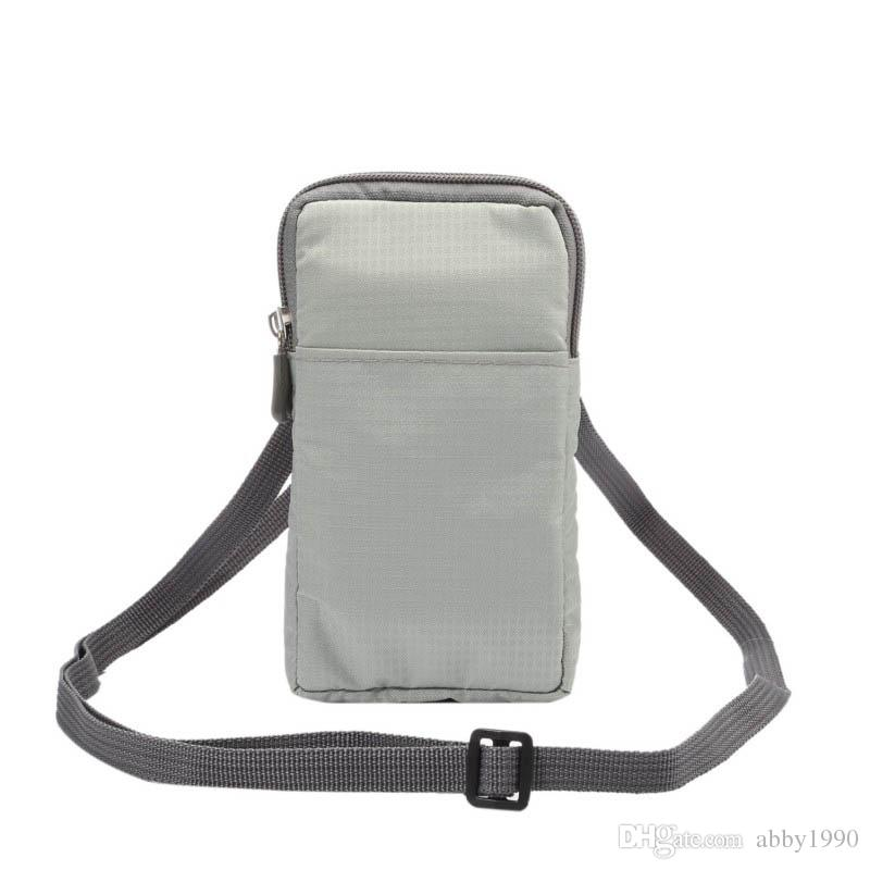Universal Multi-Function Belt Clip Sport Bag Pouch Case for Asus ZenFone 3 ZE520KL/Deluxe ZS570KL/ZE552KL