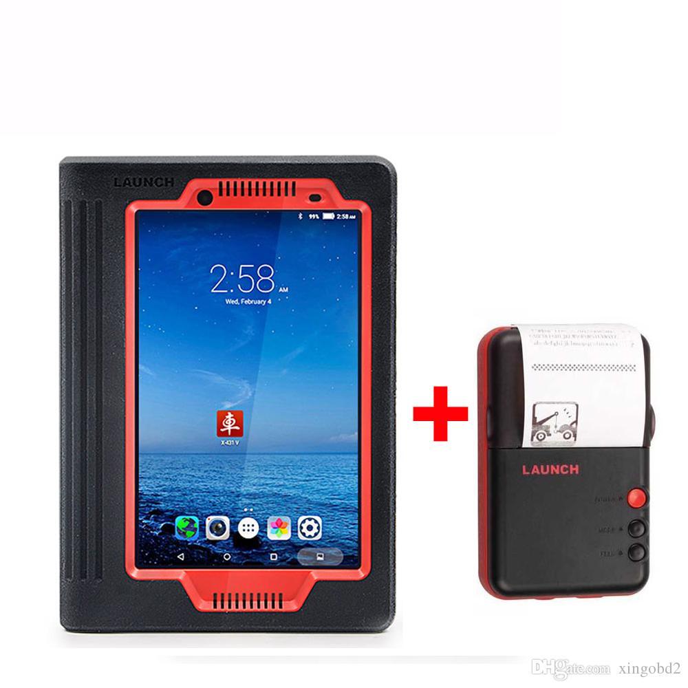 إطلاق X431 V X 431 PRO 8inch WiFi / Bluetooth كامل النظام أدوات التشخيص دعم حاقن الترميز مفتاح الترميز 2 سنوات التحديث المجاني