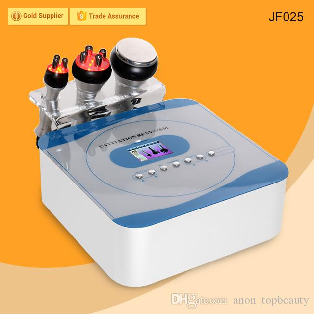 Home Use 3 in 1 Cavitation Slimming Machine Portable Beauty Equipment For Weight Loss Body Shaping Fat Removal Skin Tightening