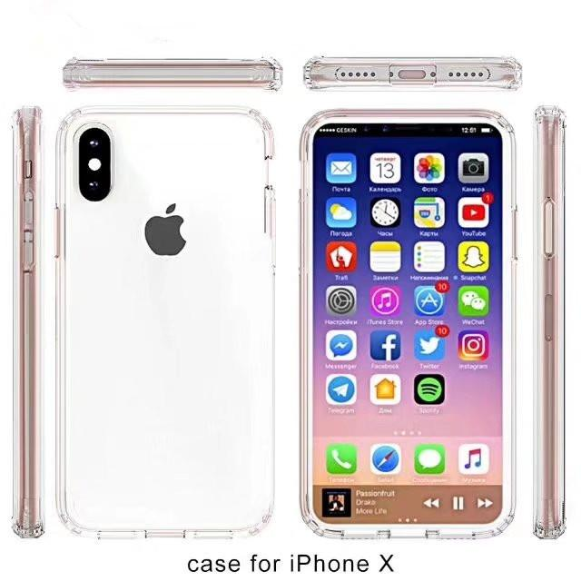 cover iphone 8 plus apple trasparente