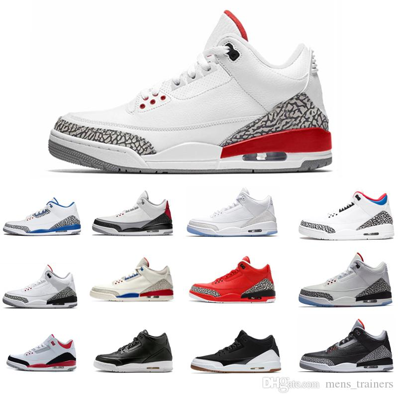 Новые мужские QS Katrina Top Sneaker Мужчины JTH Pure White Корея Черный Cement Кроссовки Баскетбол Обувь Спорт Кроссовки Размер 41-47