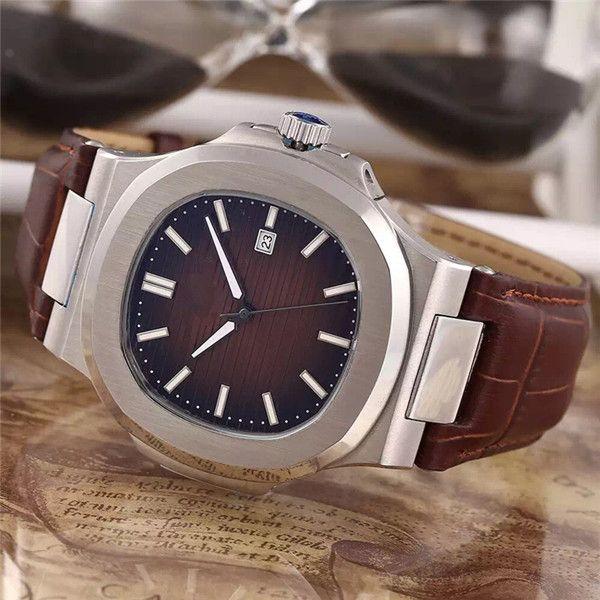 스테인레스 스틸 자동식 손목 시계 남성용 고품질 고급 시계 014 무료 배송