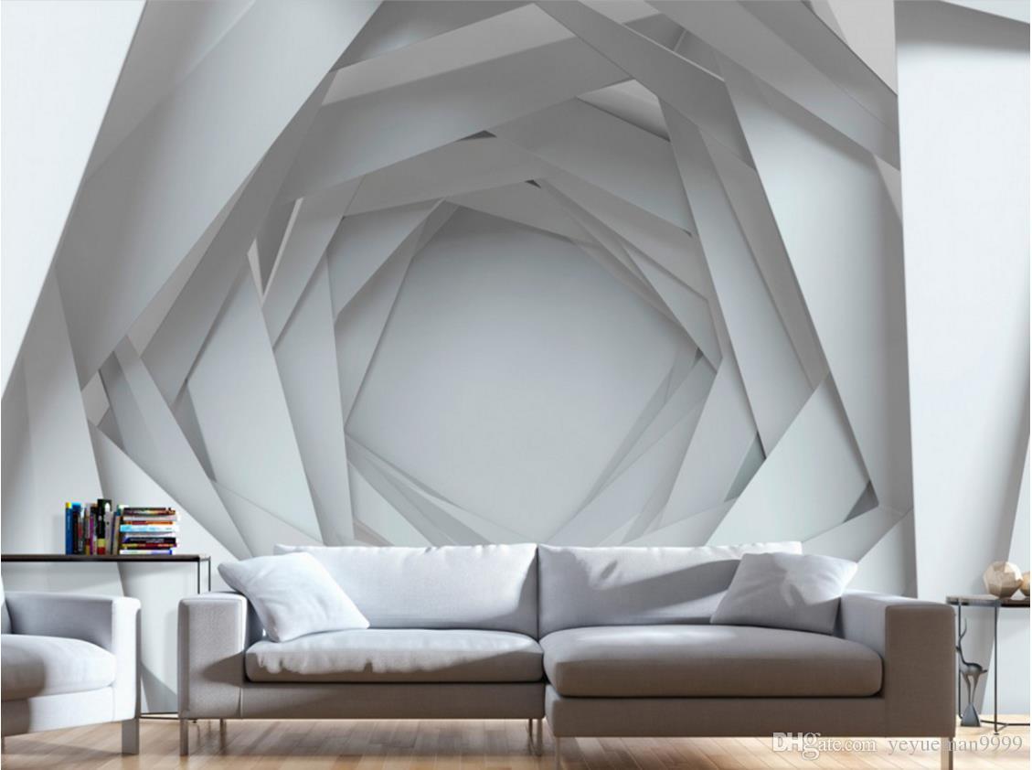 사용자 정의 벽 논문 집 장식 사진 벽지 3D 거실 벽 벽화 크리 에이 티브 텔레비젼 배경 벽 3 d