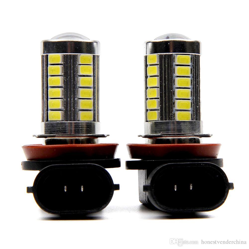 2pcs H11 LED Light 5630/3030 SMD Nevoeiro condução luz DRL Car Light para Chevrolet Cruze Camaro o Sonic faísca Equinox 2013-2015