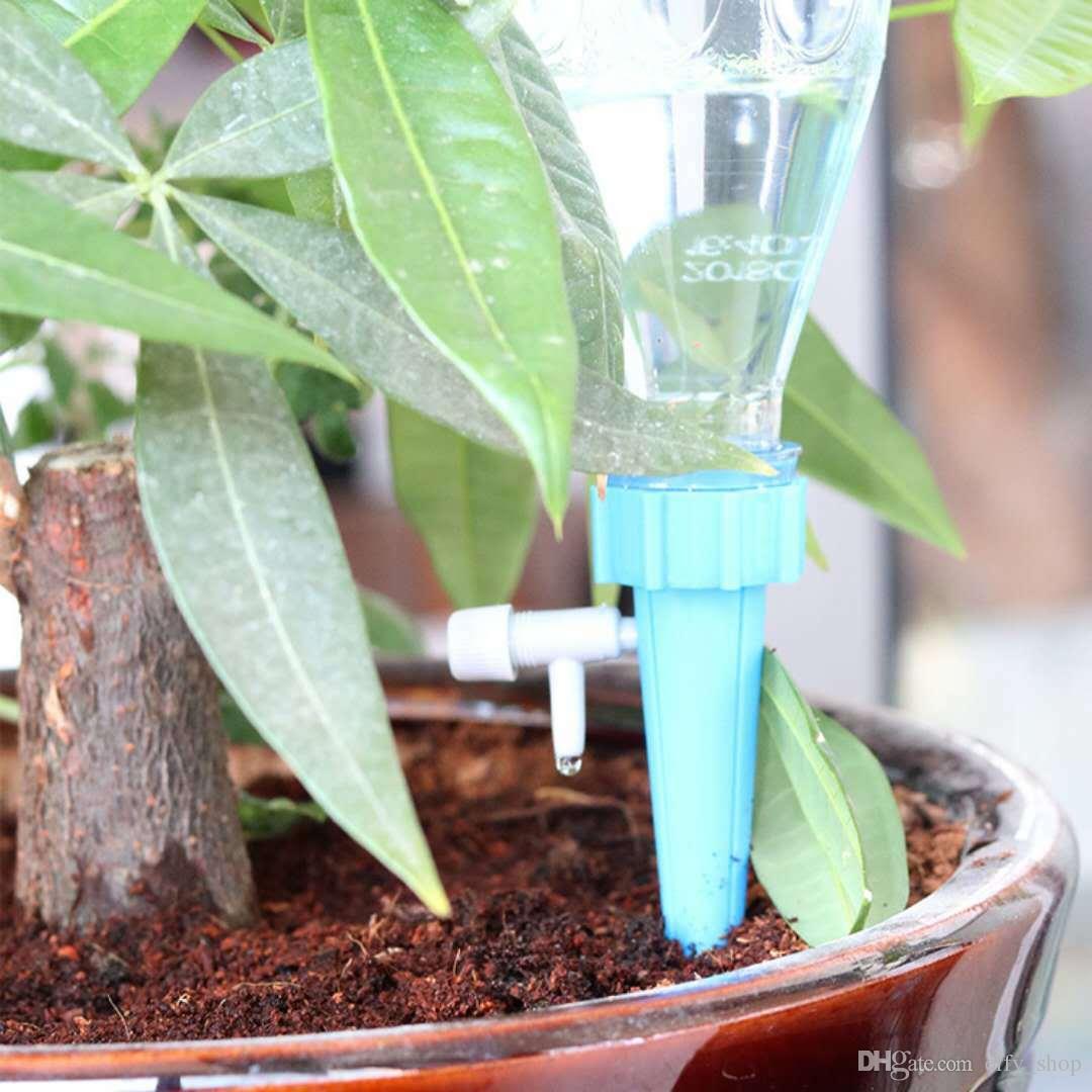 Arrosage Automatique D Intérieur acheter arrosage automatique irrigation plantes d'intérieur pointes de  jardin cône d'arrosage plante en pot de fleur arrosoirs bouteille de jardin