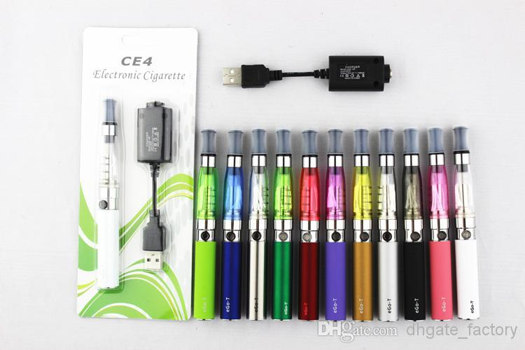 Hot Sale CE4 Starter Kits Electronic Cigarette Blister kits CE4 atomizer 650mah 900mah 1100mah battery in Blister Packing DHL Free