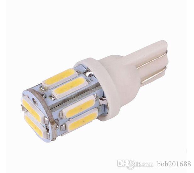 Lampadina LED laterale per porta del freno del portello della porta LED T10 W5W 7020 10SMD