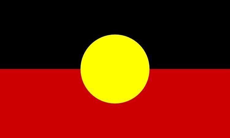 Avustralya Aborjin Bayrağı 3ft x 5ft Polyester Afiş Uçan 150 * 90 cm Özel bayrak açık