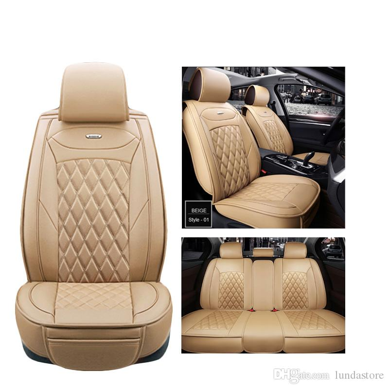 Astonishing Luxury Pu Leather Car Seat Covers For Volkswagen Vw Passat Polo Golf Tiguan Jetta Touareg Car Styling Seat Covers Infant Car Seat Cover Replacement Theyellowbook Wood Chair Design Ideas Theyellowbookinfo