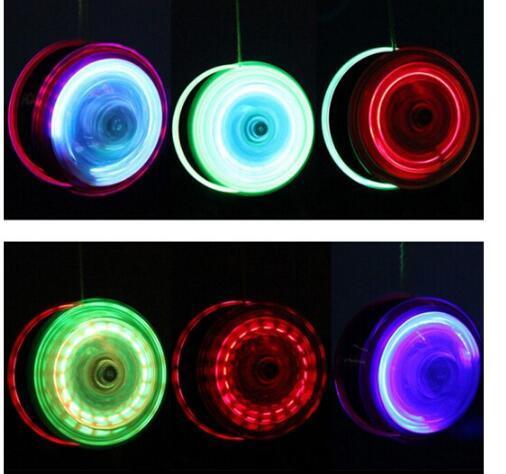 New YoYo Ball Luminous LED Flashing Yo Yo Child Clutch Mechanism Yo-Yo Toys for Kids Party Entertainment High Speed