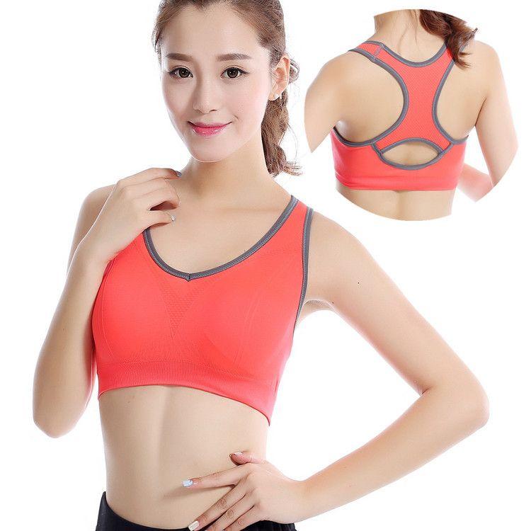 Reggiseno Gilet Fitness Donna Raccogliere No Code Trace Wireless Sleepwear Reggiseno Push Up Bralette