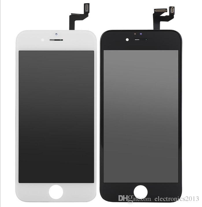 LCD Ekran Dokunmatik Digitizer Komple Ekran W / Çerçeve Tam Meclisi Değiştirme iPhone 6/6 s Artı iPhone 6 Cep Telefonu Dokunmatik Paneller