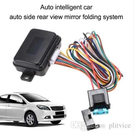 Auto sistema de dobramento lateral do espelho retrovisor do carro inteligente auto