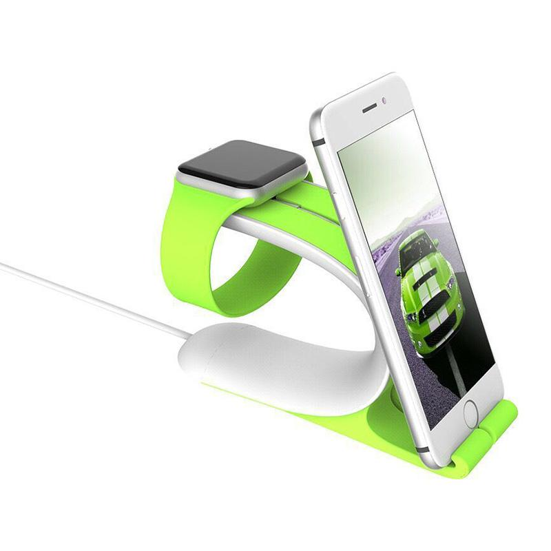 Charger Stand Phone Stand Holder for Apple Watch IWO 1 2 3 4 Smart Watch & IOS Iphone and Android Smart Phone