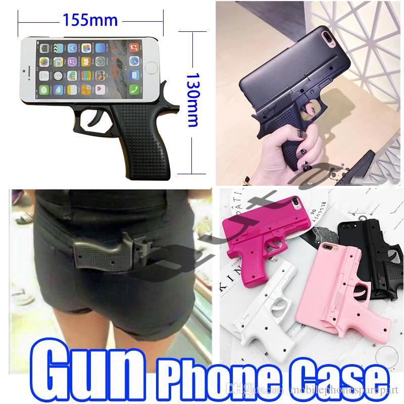 Caso Di Pistola Fredda A Forma Di Pistola Del Telefono Cellulare A Forma Di Pistola Creativa 3D IPhone X S MAX XR 8 7 6 6S PLUS Da ...