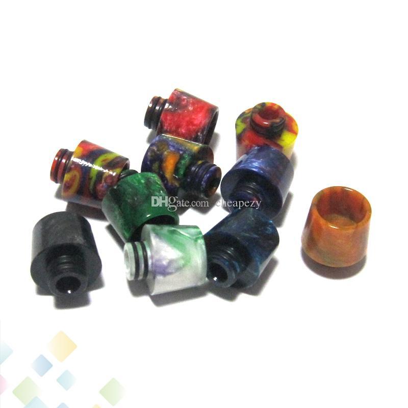 Falcon Drip Tip resina epossidica Drip Tips Vape Bocchino per Original Falcon Serbatoio 510 atomizzatori DHL