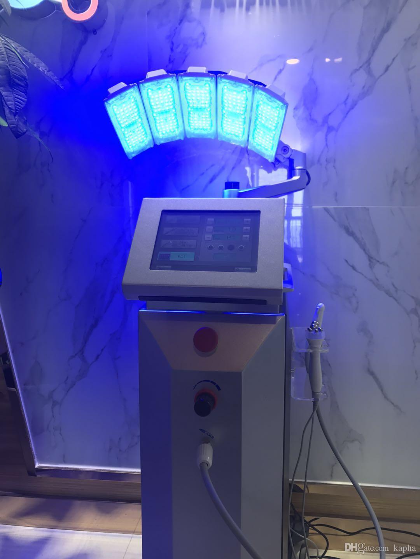 PDT/LED+Oxygen Water Jet Peel +Bio Microcurrent for Facial Beauty Machine for skin rejuvenation skin deep cleaing