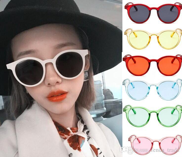 12 farben Vintage Sonnenbrille schwarz Marke Designer Cat eye frauen sonnenbrille Für Weibliche schlagbrille UV400 männer Neue Frauen Katzenauge HEIßER 10 stücke