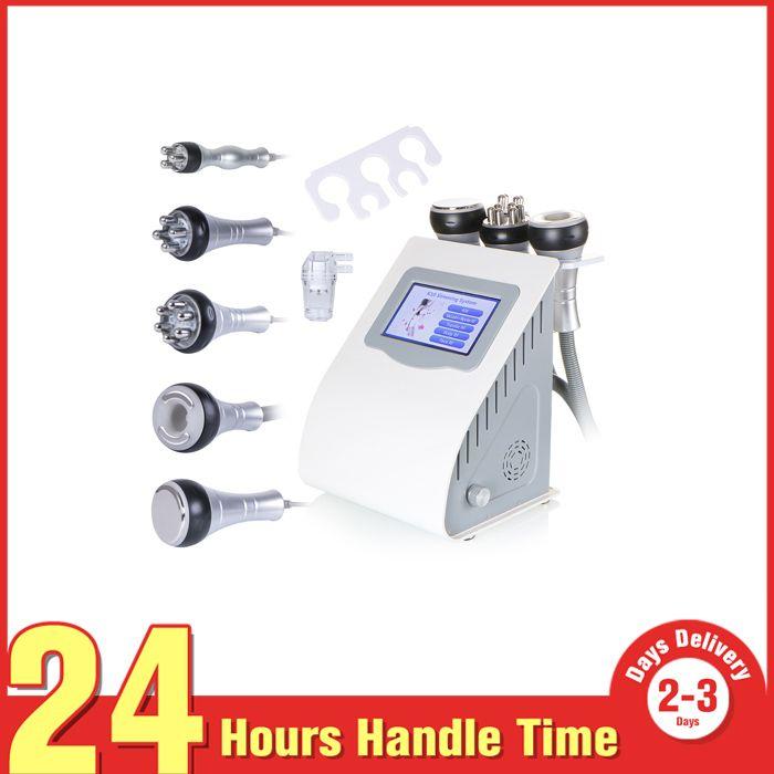 6in1 Radio Frequency Vacuum Ultrasonic Cavitation Slimming Weight Loss Machine