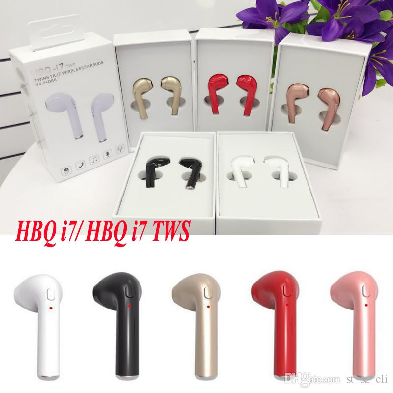 Hbq I7 Twins Wireless Earbuds Earphone Mini Bluetooth V4 2 Stereo Headphones Earphones For Iphone X 8plus 7 6s 6 Plus Galaxy S8 Cellphone Headsets Earbuds For Cell Phones From St Sz Eli 5 5 Dhgate Com