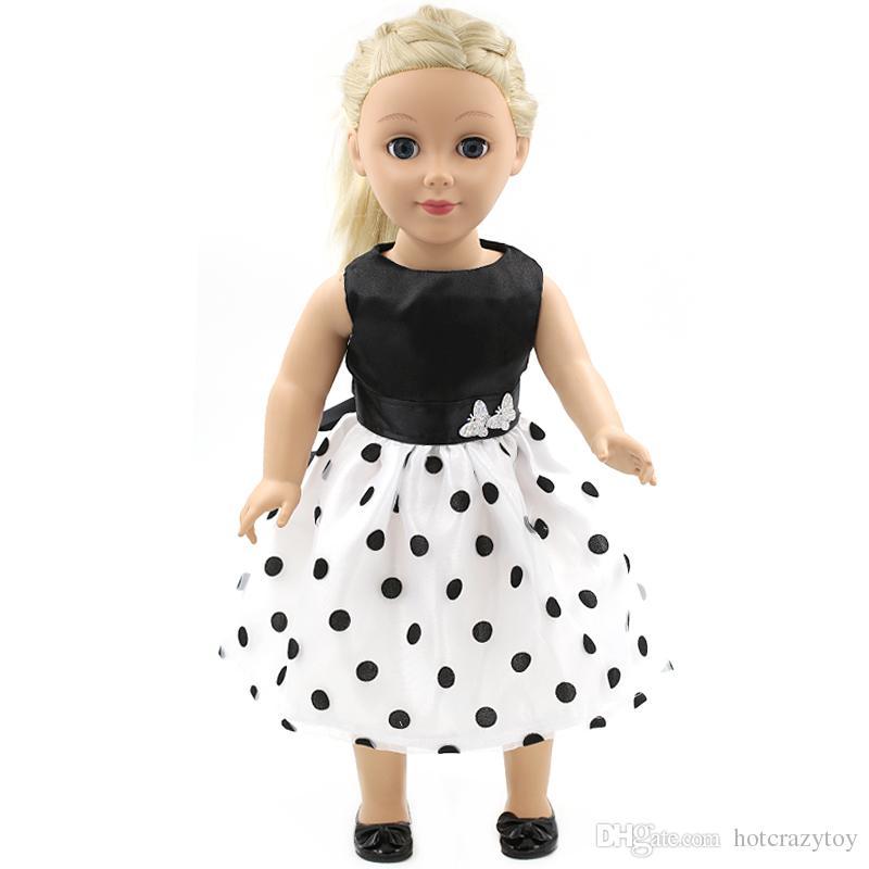 Compre Hecho A Mano Es Vestido De Princesa Ropa De Muñeca Para Muñecas De 18 Pulgadas Muñeca American Girl Ropa Y Accesorios D 9 A 252 Del