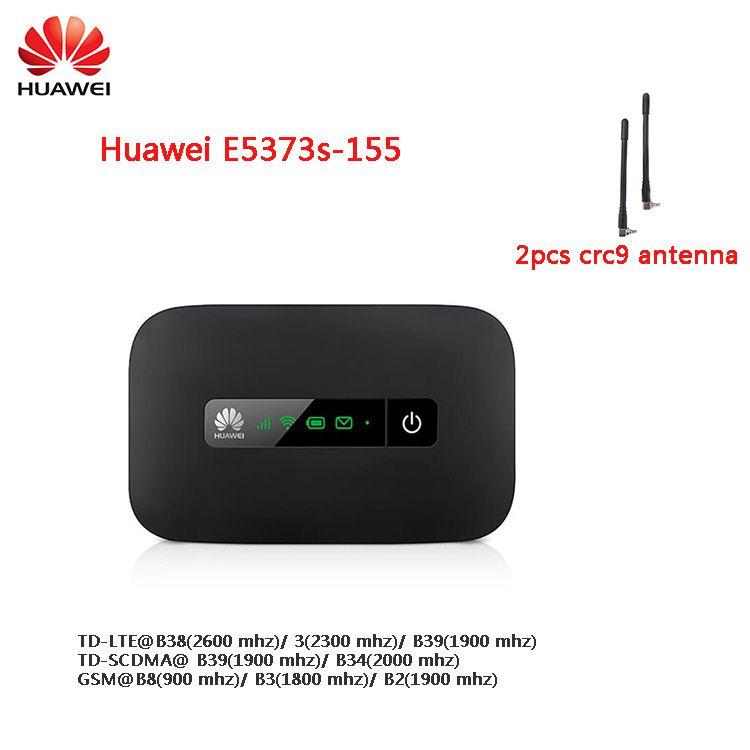 Huawei E5373s-155 4G LTE Mobile WiFi Hotspot 150Mbps Mobile Router + 2PCS